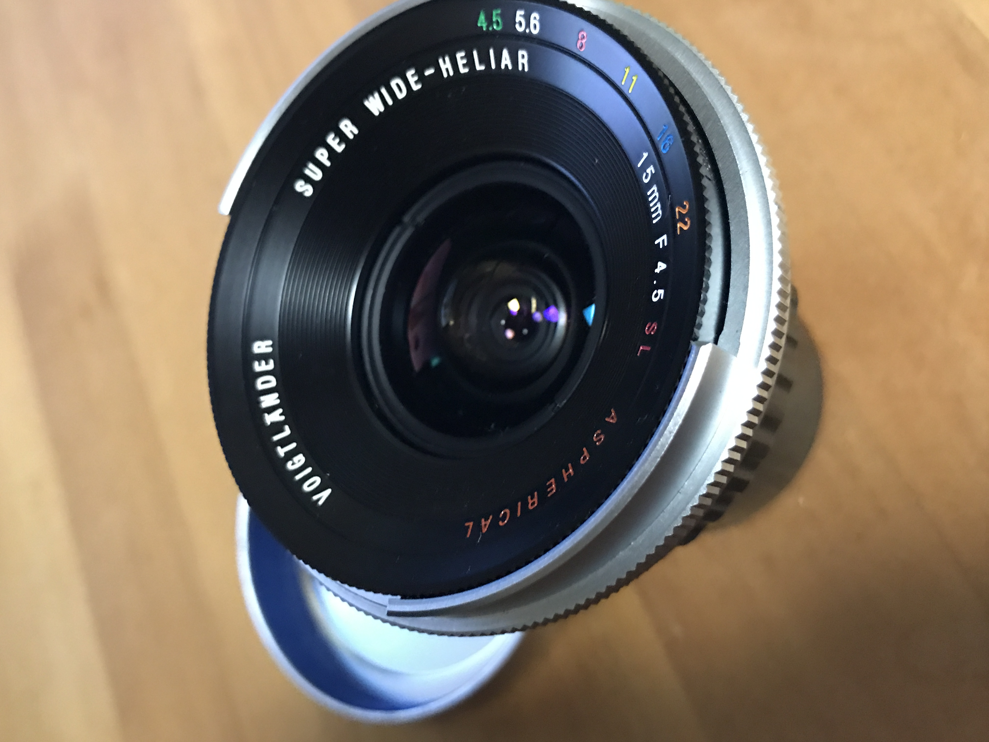 Voigtlander SUPER WIDE HELIAR 15mm F4.5 SL Aspherical F-Mount